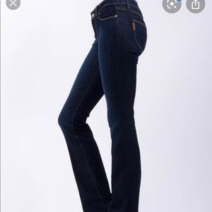 Paige Skyline Boot Jeans in Fountain 28
